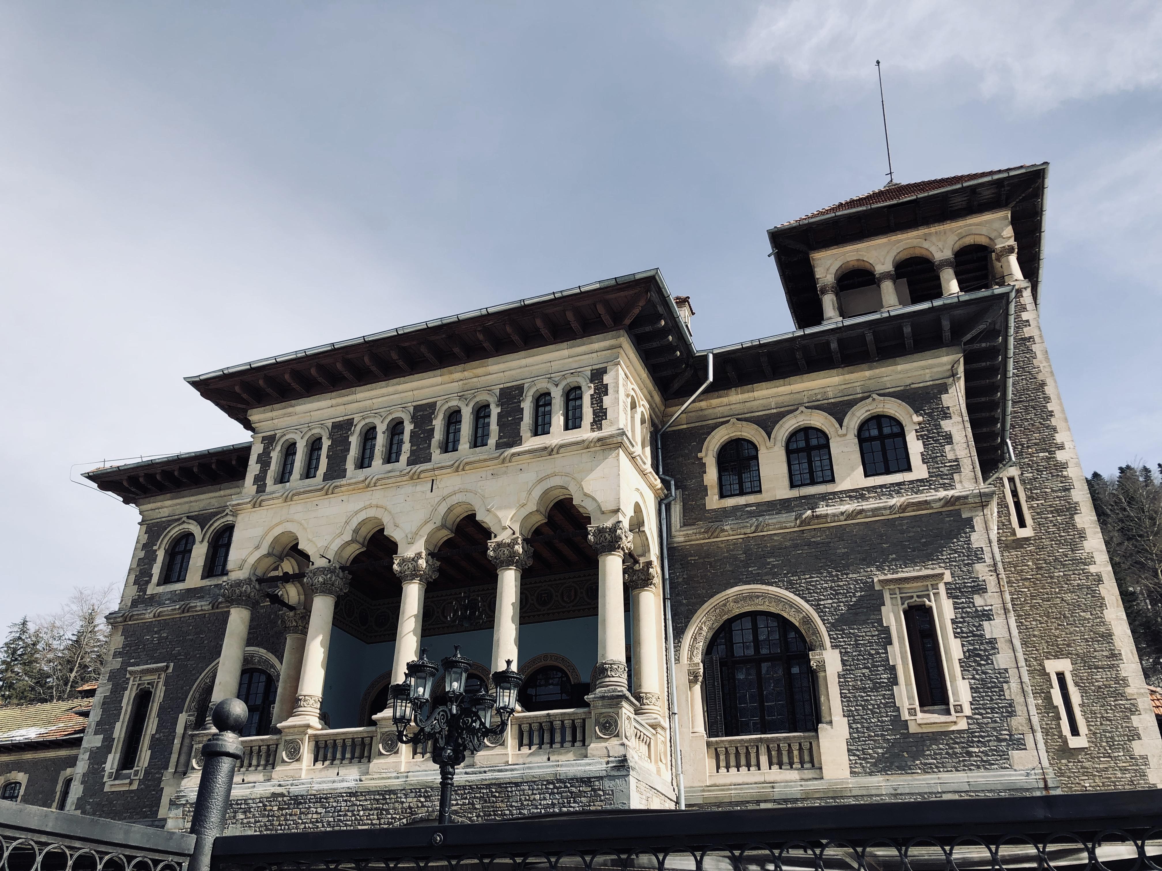 Castelul Cantacuzino, o bijuterie arhitecturală